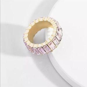 Jewelry - Pale Pink Baguette Stack Ring